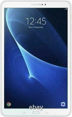 Samsung Galaxy Tab A6 SM-T580 10.1 16GB 8MP Cam Wi-Fi Android Tablet White