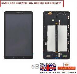 Samsung Galaxy Tab A 10.1 Sm-t580 T585 LCD Display Touch Screen Digitizer Frame