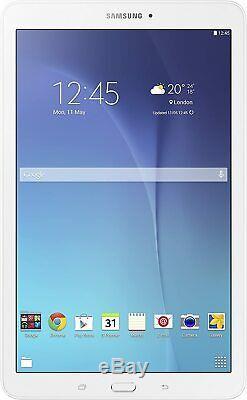 Samsung Galaxy Tab E SM-T560 Pearl White 9.6 Inch Lcd Wi-Fi Tablet UK