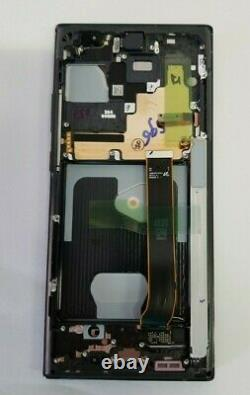 Samsung galaxy Note 20 Ultra Black LCD Touch Screen Digitizer + Frame N986 OEM