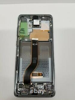 Samsung galaxy S20 Plus Gray LCD Touch Screen Digitizer Frame G986 OEM NEW S20+