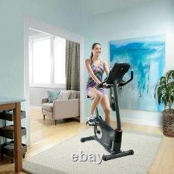 Schwinn Fitness 170 Home Workout Stationary Upright Exercise Bike with LCD Display