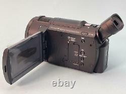 Sony Handycam AX33 4K Flash Memory HD Video Recording Camcorder Camera FDR-AX33