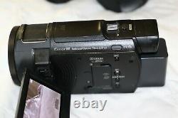 Sony Handycam FDRAX33/B Camcorder Black