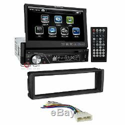 Soundstream Bluetooth Radio 7 LCD Touchscreen Dash Kit For 1996-98 Honda Civic