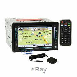 Soundstream DVD Bluetooth GPS Stereo Dash Kit Harness for 2008-12 Honda Accord