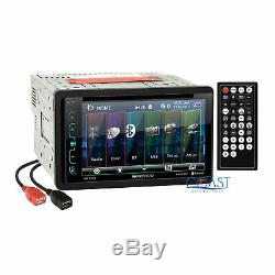 Soundstream DVD USB Bluetooth Stereo Dash Kit Harness for 2002-07 Jeep Liberty