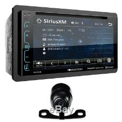 Soundstream Double Din Vr-65xb Dvd/cd Mp3 Player 6.2 LCD Bluetooth Usb Siriusxm