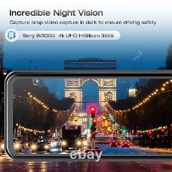 TOGUARD 12 4K Dual Dashcam GPS Kamera Auto Rückspiegel Touchscreen DVR Camera
