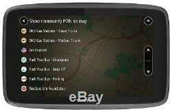 TomTom Go Professional 6200 6 Inch WiFi LCD Sat Nav with EU Lifetime Maps
