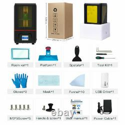 UK ANYCUBIC SLA LCD Photon Resin 3D Printer High Presion 2K 2.8 Touch Screen