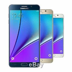 Unlocked Samsung Galaxy Note 5 SM-N920A (AT&T-T-Mobile) 4G LTE Phone LCD Shadow