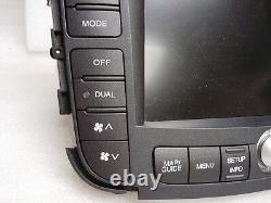07 08 Acura 3.2 Tl Navigation Gps Système LCD Écran Tactile Écran Testé