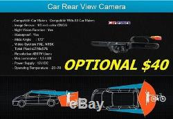 07 & Up Chrysler Jeep Dodge CD / DVD Bluetooth Usb Aux Car Stereo Backup Gratuit Cam