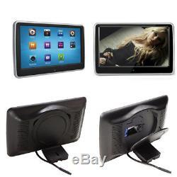 10,1 Pouces LCD Hd Voiture Écran Tactile Fm Lecteur DVD Têtière Sd Ir Usb Lecteur Jeu