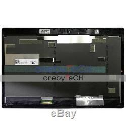 12.5 Dell Xps 12 9250 1920x1080 Fhd Led LCD Assemblée De L'écran Écran Tactile + Cadre