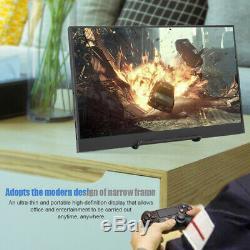 15.6 Hd 4k 1080p Ips LCD Écran Moniteur De Jeu Écran Hdmi Pour Ps4 Xbox