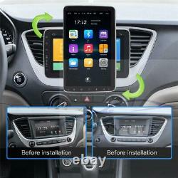 1 Din Rotation 9 Écran Tactile Android 10.1 Hd 32 Go Voiture Stereo Radio Gps Wifi