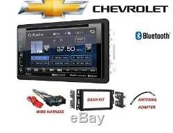 2006-2015 Chevrolet Impala Equinox Traverse Bluetooth Voiture Stéréo XM LCD DVD