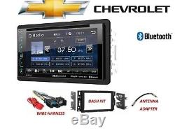 2006-2015 Chevy Silverado Tahoe Bluetooth Sirius XM Ready Voiture Stéréo DVD LCD