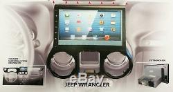 2016 2017 2018 Jeep Wrangler 10 LCD Radio À Écran Tactile Bluetooth Bluetooth In-dash