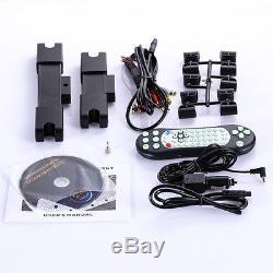 2x 10 Hd Numérique LCD Écran Tactile Voiture Moniteur Têtière Moniteur DVD / Lecteur Usb Ir / Fm Jeu