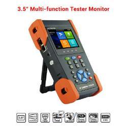 3,5 Écran Tactile Cctv Moniteur Testeur Poe 8mp 4k Caméra Ip Ahd Test Monitor Tvi