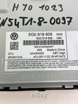 5g0919606 Originale Vw Golf 7 VII 5g Navigation Display Bedienteil Discover Pro