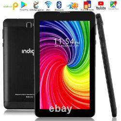 7.0 Tablet Phone Pc 4g Smartphone Gsm Android 9.0 Ultra-slim Wifi + 4g Déverrouillé