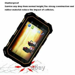 7 Pouces Débloqué Android 4g Lte Rugged Smartphone Builder Tablette De Téléphone Mobile Gps