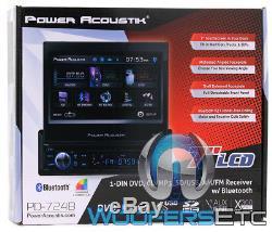 7 Tft Led LCD Bluetooth Bluetooth CD CD Mp3 Mp4 Usb Sd Aux Radio Stéréo Détachable