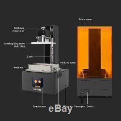 9855140mm 3d Longer Imprimante Haute Précision Résine LCD Uv Pleine Écran Tactile Couleur