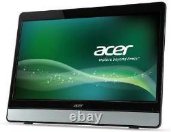 Acer 19.5 Moniteur Écran Tactile 5ms 1600 X 900 Pixels Led Black Silver Haut-parleurs