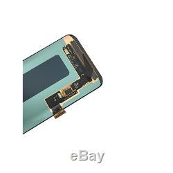 Affichage LCD Pour Écran Tactile Samsung Galaxy S8 Sm-g950f Glas Bildschirm Schwarz
