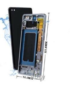 Affichage Original Samsung Galaxy S10 Plus G975f Écran Tactile LCD Noir Bildschirm