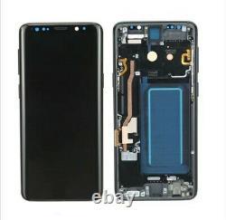 Affichage Original Samsung Galaxy S9 Sm-g960f Écran Tactile LCD Bildschirm Schwarz