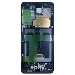 Affichage Samsung LCD Komplett Für Galaxy S20 Plus G985f Gh82-22145a Schwarz Neu