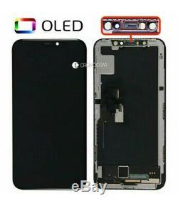 Afficher Schermo Iphone X 10 Nero Par D'apple Écran Tactile LCD Qualita Gx Doux Oled