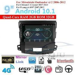 Android 10.1 Lecteur De Voiture Radio Gps Navi Pour Mitsubishi Outlander XL 2 06-12 32gb
