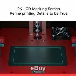 Anycubic Photon LCD Sla Imprimante 3d Résine Uv Light-cure 2.8 Pour Écran Tactile Uk Plug