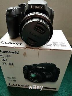 Appareil Photo Panasonic Dc-fz82 Noir 18.1mp 60x Zoom 3.0lcd Fhd 20mm Lumix DC Vario