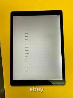 Apple Ipad Pro 1st Gen 128go Wi-fi + 4g (unlocked) 12,9 En Gris LCD Décolorer