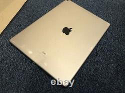 Apple Ipad Pro 2nd Gen. 256go, Wi-fi + 4g, 12.9 Dans Space Gray Broken A92