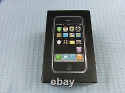 Apple Iphone 1. Génération/2g 8 Go Schwarz! Ohne Simlock! Ovp! Imei Gleich! Selten ( Selten )