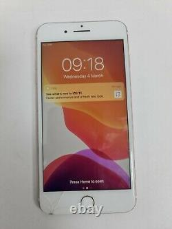 Apple Iphone 7 Plus 128 Go Rose Or (déverrouillé) A1784 Lcd+fingerprint N/w