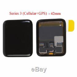 Apple Suivre Series 3 Iwatch 38mm 42mm LCD Écran Tactile Gps + Cellula