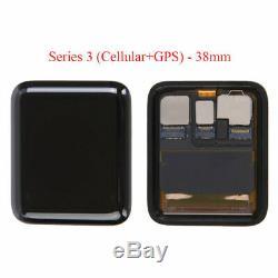 Apple Watch Série 1 2 3 Gps Iwatch 38mm 42mm Ecran Tactile Montre Avant Verre LCD
