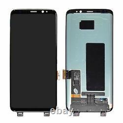 Assemblage De Numériseur À Écran Tactile LCD Pour Samsung Galaxy S8 Sm-g950f Noir