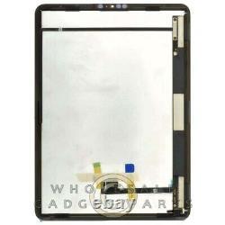 Assemblage De Numériseurs LCD Pour Apple Ipad Pro 11 Black Glass Touch Screen Display