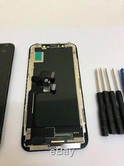 Assemblée De L'iphone X Noir, Véritable Remplacement De L'écran LCD Avec Écran Tactile Oem Oled